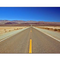 Death Valley Road to Nowhere