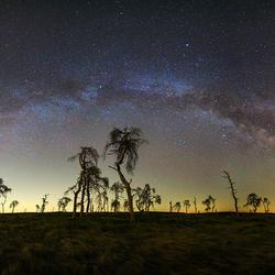 Melkwegboog in Belgie