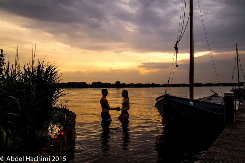 Sunset by candlelight - Goudse hout