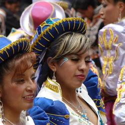 Carnaval in Oruro Bolivia
