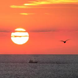 Een katwijkse zonsondergang