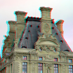 Louvre Paris 3D