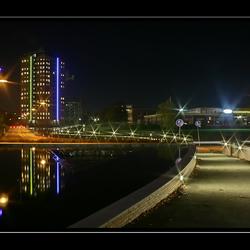 Stadskanaal bij nacht 1