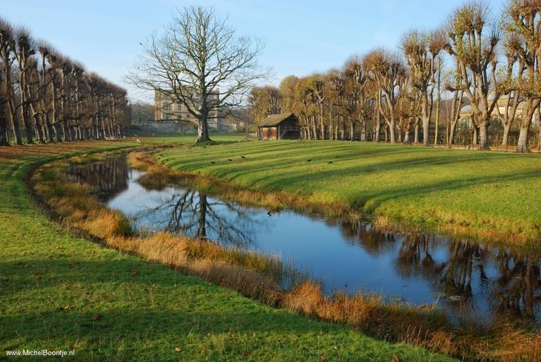 Landgoed Elswout - Bij de Orangerie in Aerdenhout.