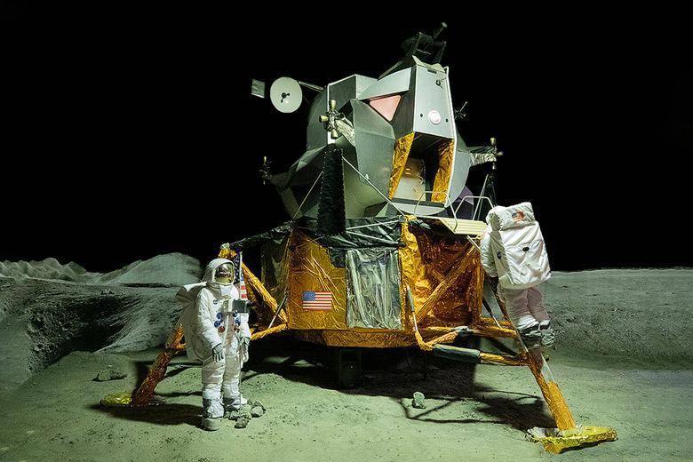 50 jaar maanlanding - Op 21 juli 2019 is het precies 50 jaar geleden dat Neil Armstrong de eerste stap op de maan zette. Hij sprak daarbij de legendar
