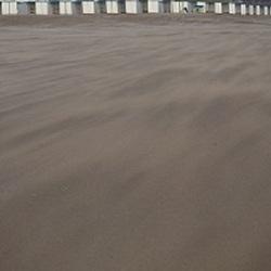 Strand in beweging