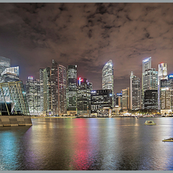 Singapore : Skyline.