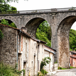 Old railroad bridge (France)
