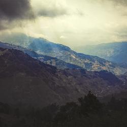 Yuanyang mountains