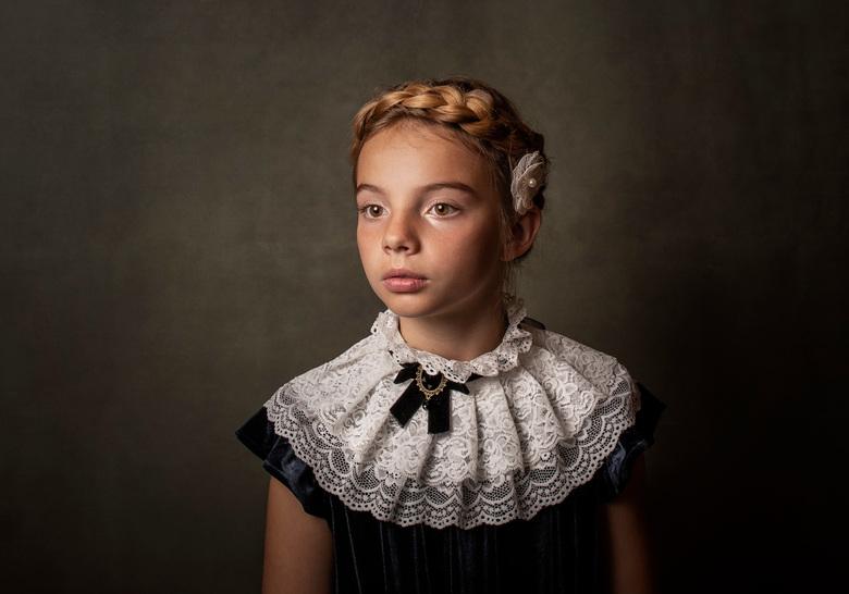 Camille - Eerste keer studiofotografie