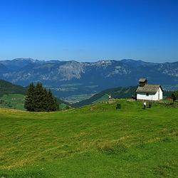 uitzicht vanaf de Markbachjoch