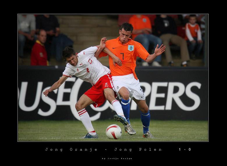 Jong Oranje - Jong Polen 1-0 - Julien Jenner - Afgelopen vrijdag naar Deventer geweest om daar een wedstrijd van Jong Oranje bij te wonen, deze wedstr