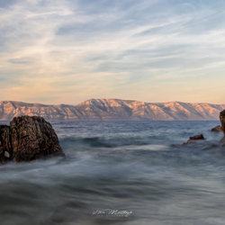 Sunset @ the island of Mljet (Kroatië)