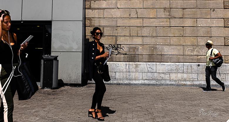 Amsterdam catwalk