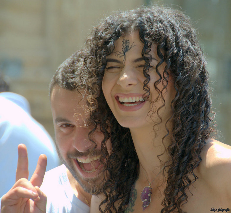 Peace - Internationaal gebaar.<br /> <br /> Op Cyprus.<br />