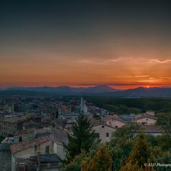 Gerona Sunset