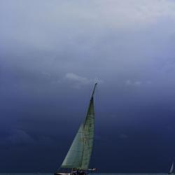 Zeilen voor de storm