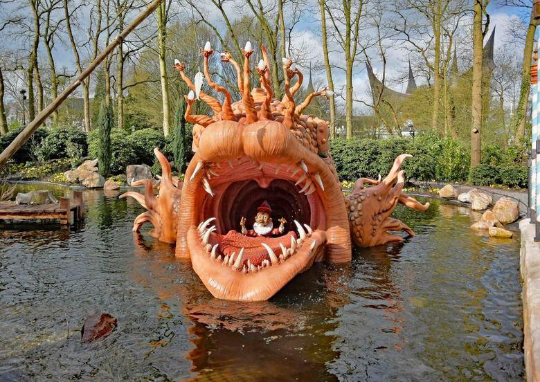 Sprookjesbos_2a - Pinokkio is sinds kort het 29ste sprookje dat te zien is in het sprookjesbos van de Efteling.