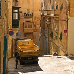 Straatbeeld Valletta