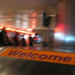 Lomografie op het vliegveld