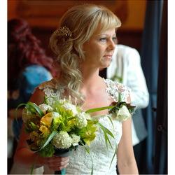 foto van de bruid
