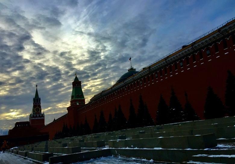 Rode plein, Moskou -