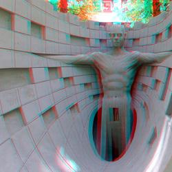 Zandsculpture Den Haag 3D