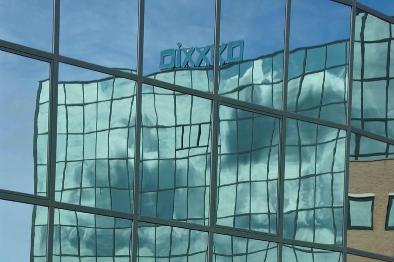 reflectie - Deze foto was een van de drie foto's die ik gebruikt hebt voor mijn eindwerk van de basiscursus fotografie.