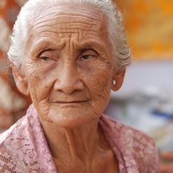 old woman Bali