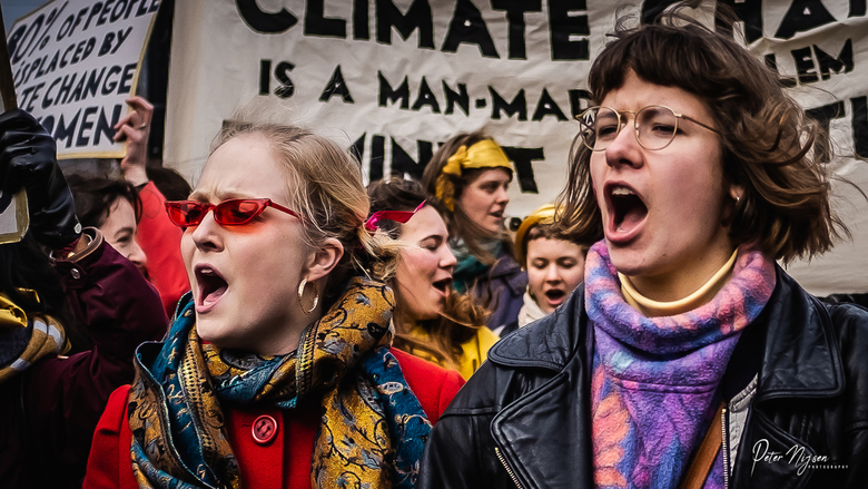 Woman's march Amsterdam 2 -