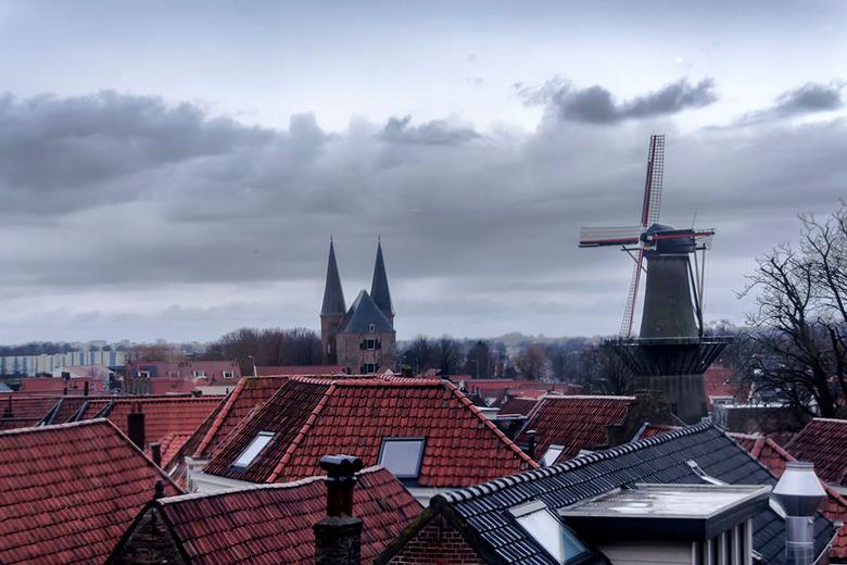 """Roofs 2  - Een andere compositie en andere bewerking, voor ieder wat wils <img  src=""""/images/smileys/smile.png""""/>."""