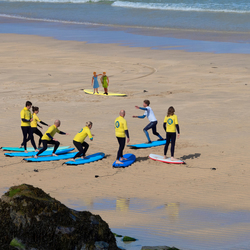Surfles in St Ives Cornwall