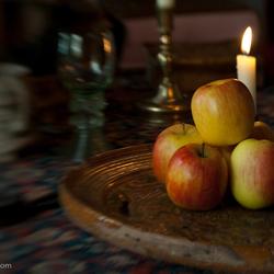 Appelen in het daglicht