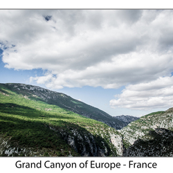 Grand Canyon of Europe - France