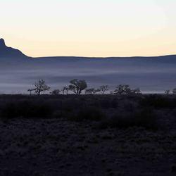 Namibië, Sesriem, nog voor zonsopgang