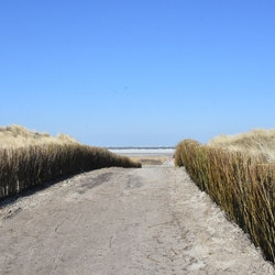 richting strand