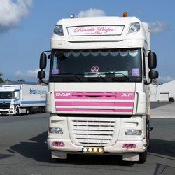 P1460753 PINK RIBBON nr2  DAF XF 105     25 aug 2017