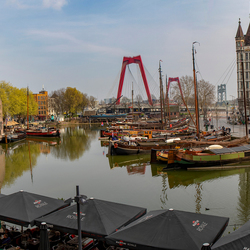 Oude haven panorama