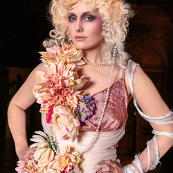 high fashion renaissance outfit