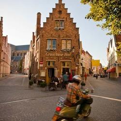 Restaurantje in  Brugge