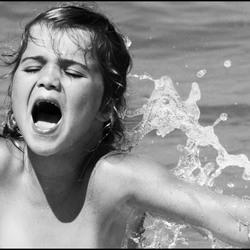 Droge rug...koud water!
