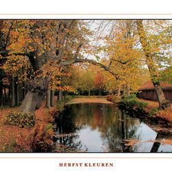 Herfst kleuren bij Fraeylemaborg