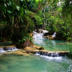 Kuangsi waterfall park