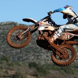 Motocross actie