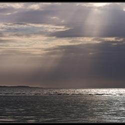 Aan de kust..