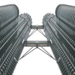 Twin-bridge-tower