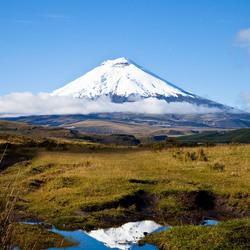 vulkaan Sincholagua Ecuador