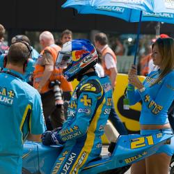 Suzuki aan de start TT 2006