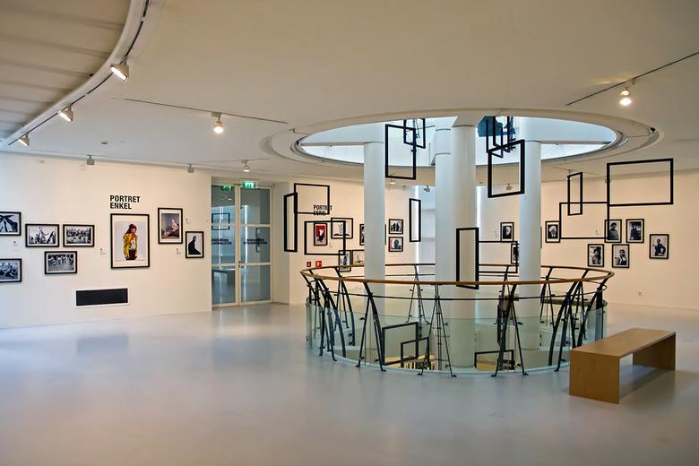 Museum Hilversum 2 - Overzicht van één van de vloeren.