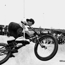 BMX On A Jump